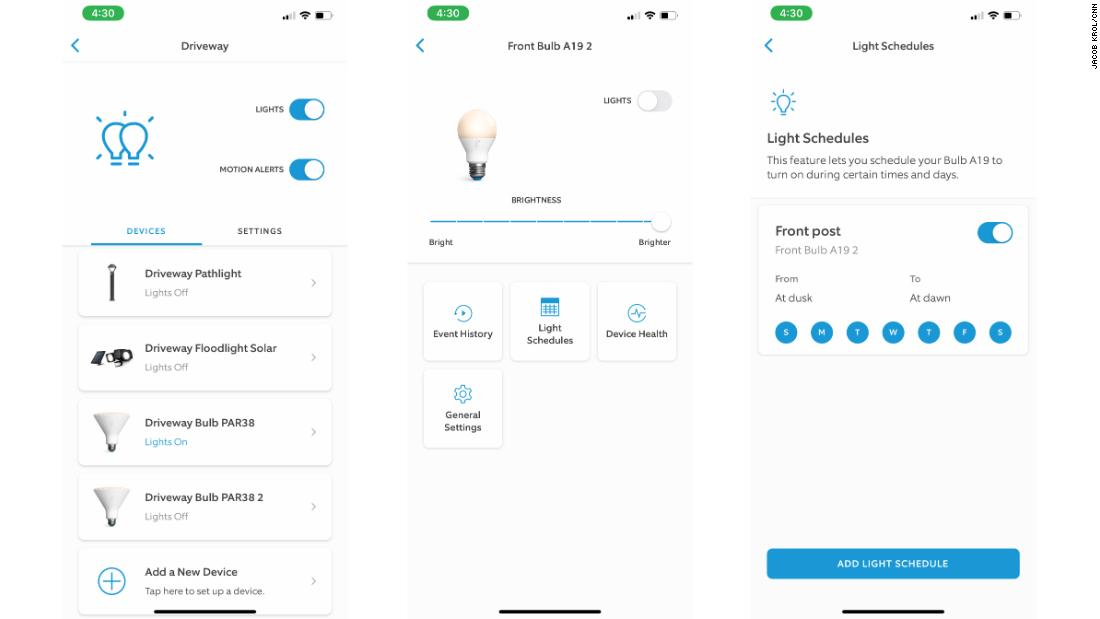 Ring's A19 and PAR38 smart bulbs
