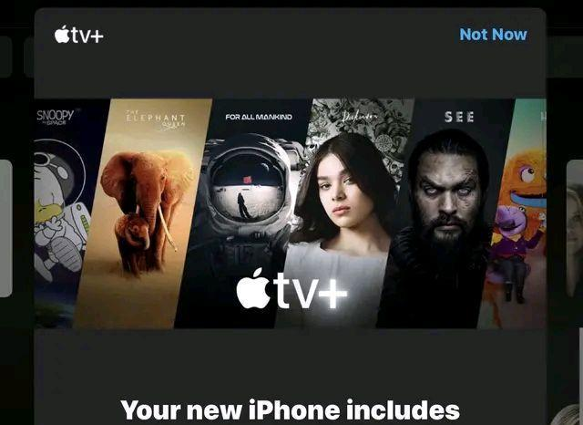 Watch free apple TV + at home during COVID-19