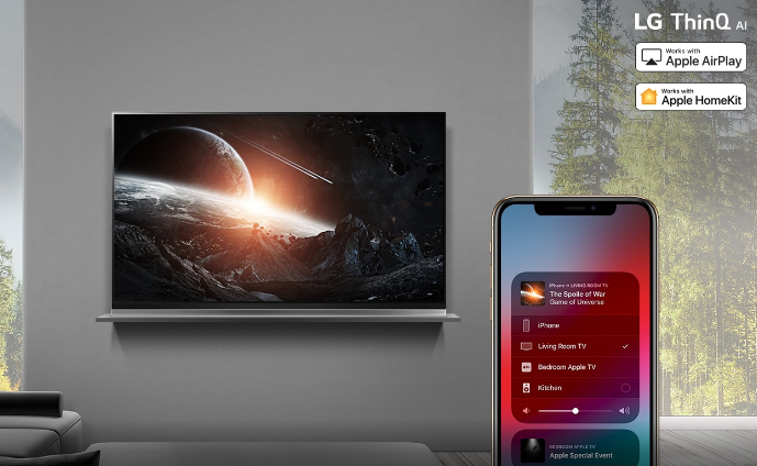 LG Plans To Add Apple AirPlay 2 and HomeKit To Smart TVs
