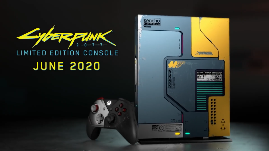 Xbox One X -- cyberpunk 2077