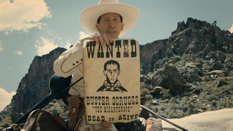 The Ballad of Buster Scruggs (2018) by Cohen brothers got a cruel sense of humor