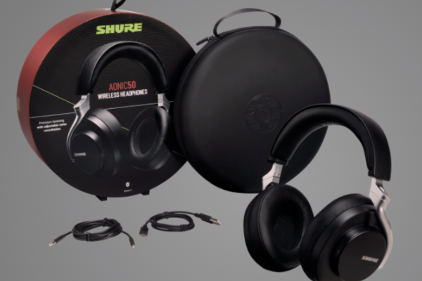 VGP awards winner Shure AONIC 50 active noise-cancelling headphone