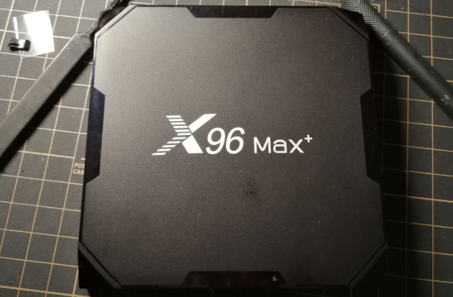 X96max TV box cooling solution: fixed overheating on Iron Man Edition