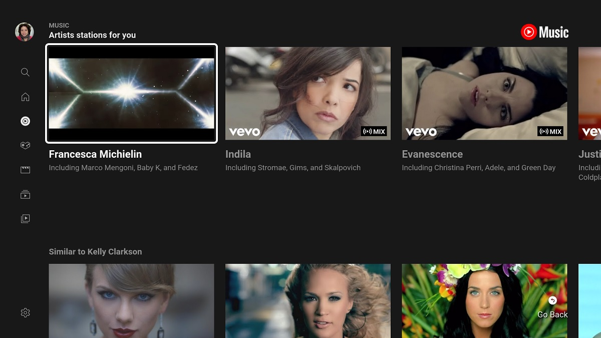 YouTube Music is available on Android TV: features and functions