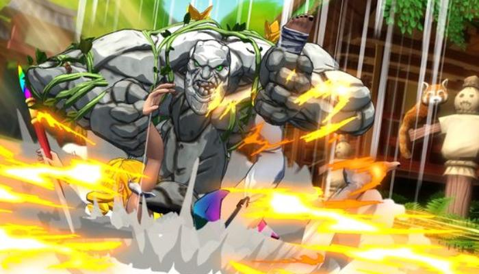 Fighting game Fantasy Strike free on Steam now
