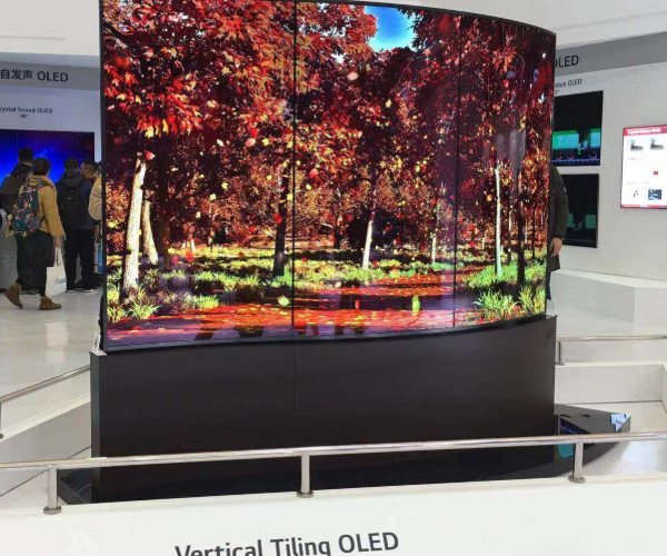 LG will launch rollable OLED TV to support scrolling hidden screen