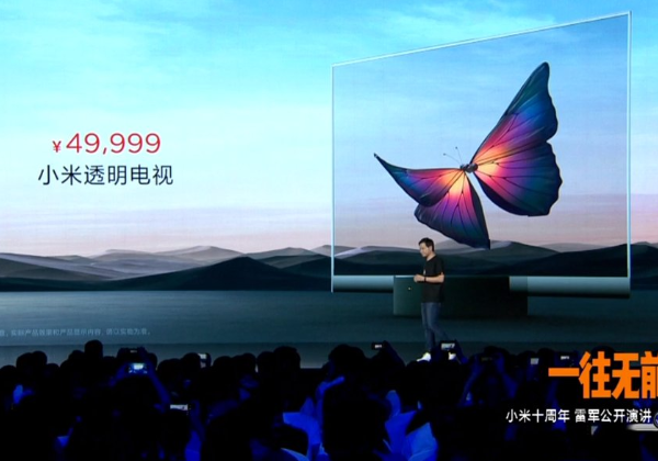 Xiaomi released a transparent TV priced at 49,999 RMB