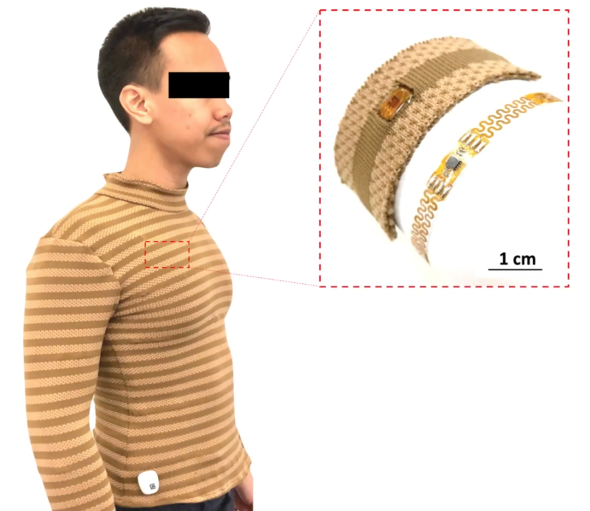 Do you like the shirt that can measure your body temperature and heart rate?