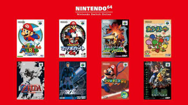 N64 games for European Switch consoles will run at 60Hz