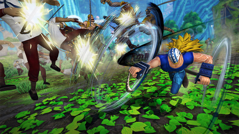 One Piece Pirate Warriors 4 DLC character Killer high-speed attack appreciation