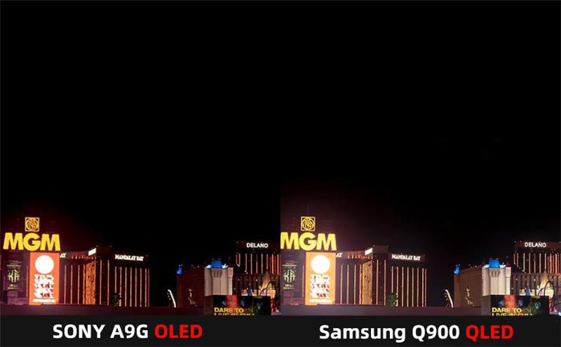 SONY A9G OLED VS Samsung Q900 QLED