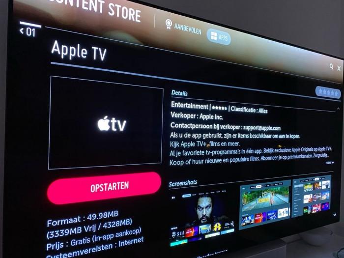 Some 2018 LG TVs introduce the Apple TV app