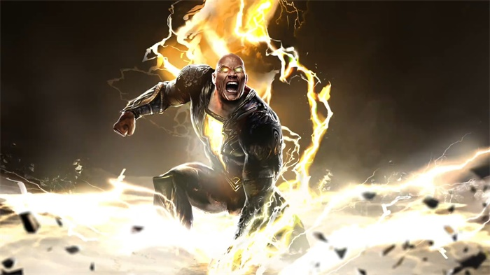 Black Adam exclusive image exposed for the first time, unveiling the mystery of Black Adam