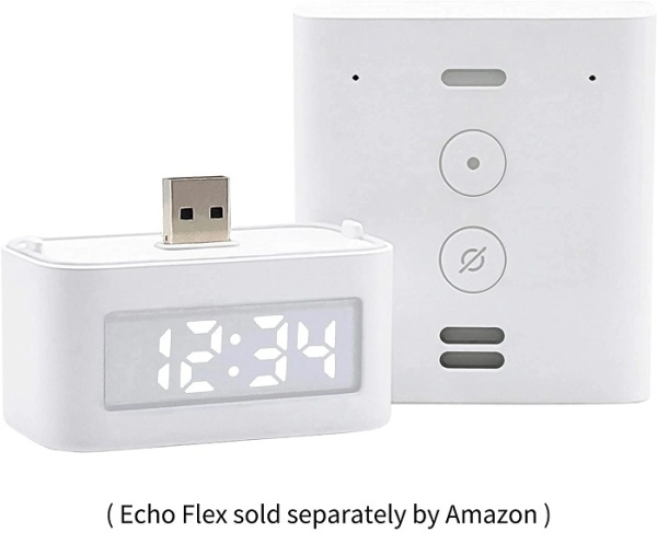 What do you think of the Amazon small digital clock Echo Flex?